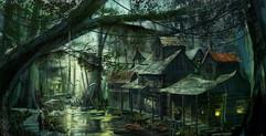 THE SWAMP (CAJUN BAYOU)