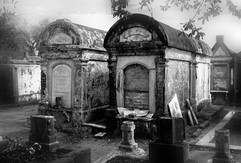 """""""CITY OF THE DEAD"""" (ABOVE GROUND MAUSOLEUMS/CEMETERIES)"""