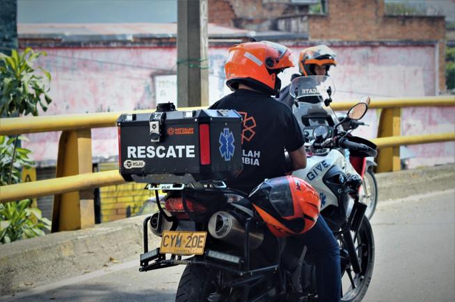Hatzalah Colombia ambucyckle