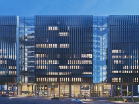 Business Center On G.Saakadze Descent