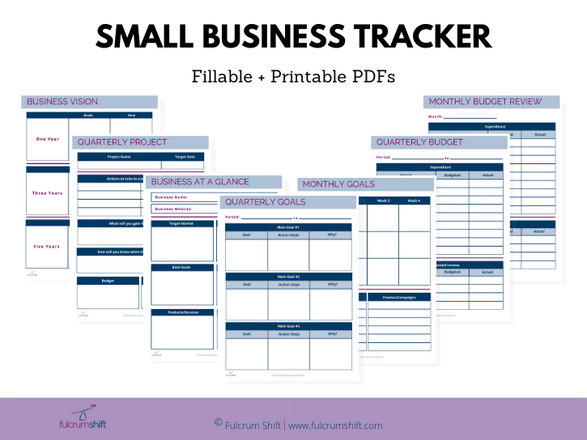 Business Plan Graphic Display