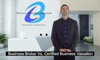 Broke Vs Certifed Business Valuation