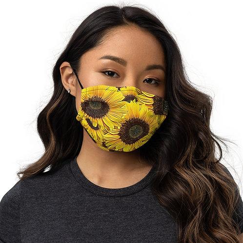 Sunflower Premium reusable face mask