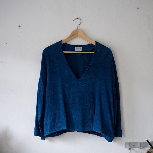 藍染日式女裝外套