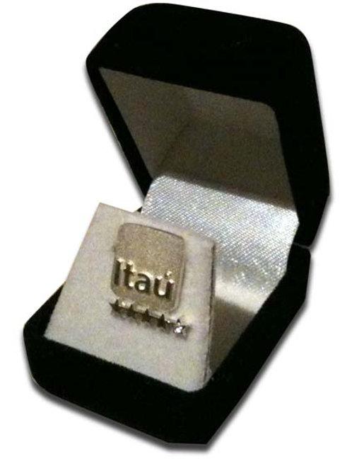 Pin Itaú Dorado