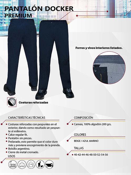 Pantalón Docker Premium 21x21