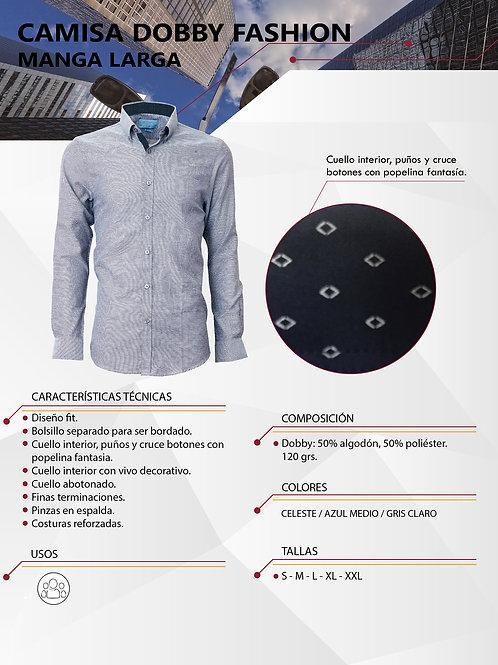 Camisa Dobby ML