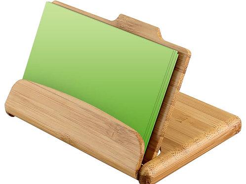 B80 Tarjetero de Bamboo