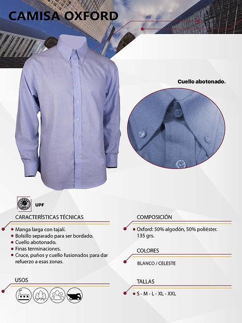 Camisa Oxford ML Hombre