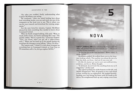 Adventures in Time Chapter 5 Mock up..pn
