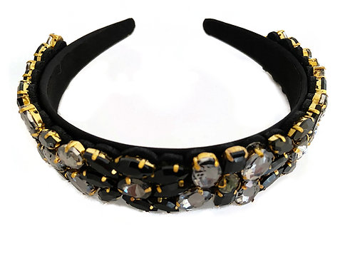 Lux Black and Gold Crown