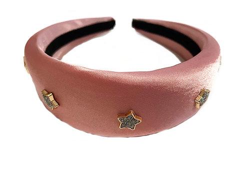 Star Satin Pink Crown