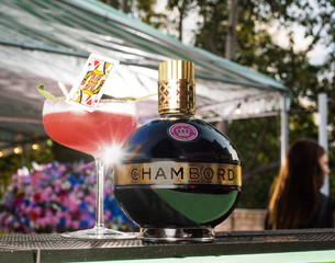 Celebrate the Royal Wedding with Chambord's Queen of Hearts Cocktail. Clink clink!