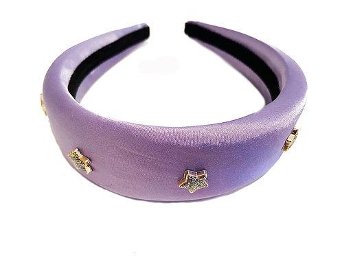 Lilac Satin Star Crown