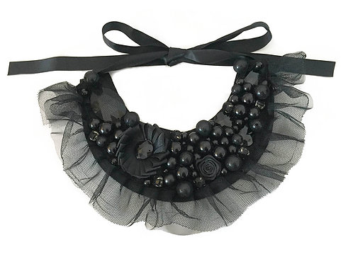 Victoria Black Necklace