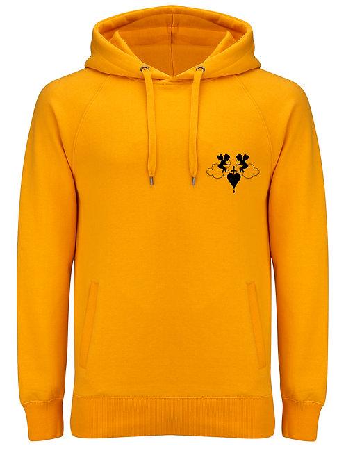 Cherub Unisex Gold Pullover Hoody