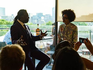 Levi Roots in conversation with Zoe Adjonyoh.