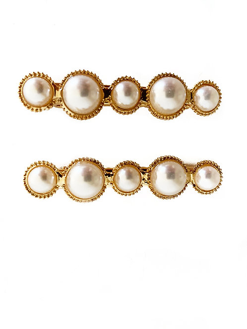 My Pearly Hair Grips - Set of 2