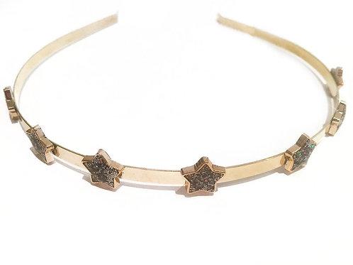 Slim Gold Star Crown