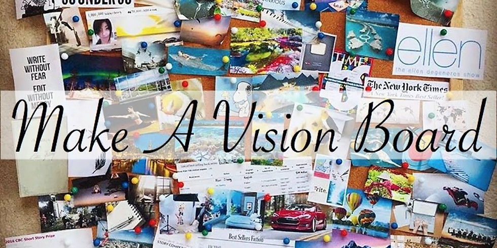 Widow/er Vision Board Session