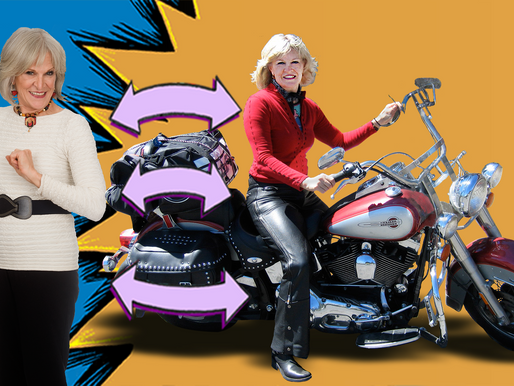 Blind Curves- From Corporate Suits to Motorcycle Leathers