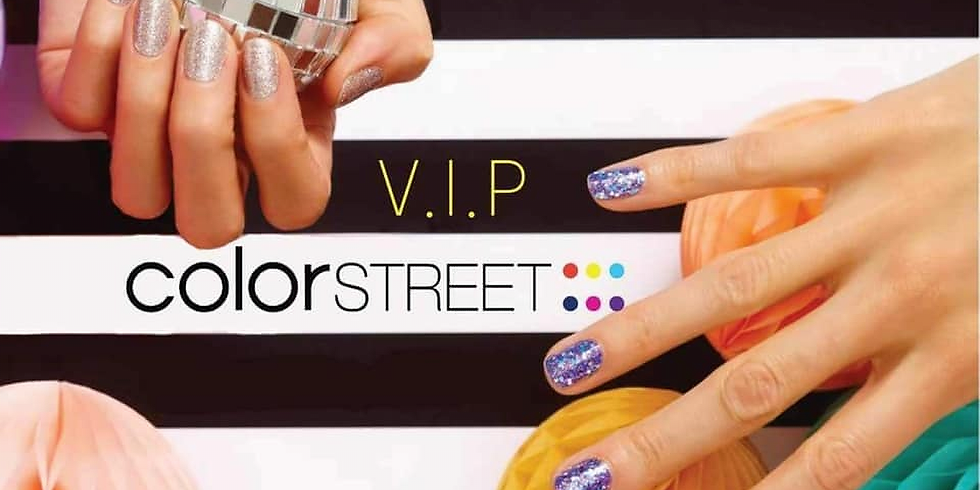ColorStreet+WidowCare Virtual Nail Party and Zoom Q&A