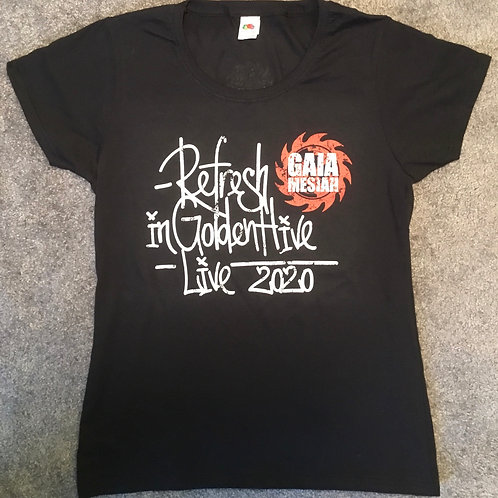 Refresh in Golden Hive Live tričko/Tshirt (Limited edition 2020 Dámské/Womens)