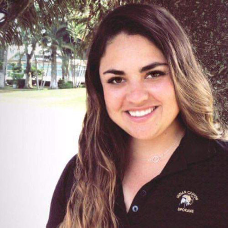 """I grew up in a big golf family."" Karina Davila - Indian Canyon Golf Course"