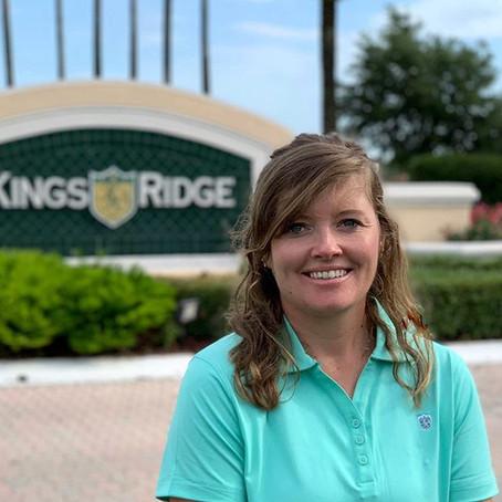 """That pushed me to prove them wrong."" -Megan Johnston, King's Ridge Golf Academy"