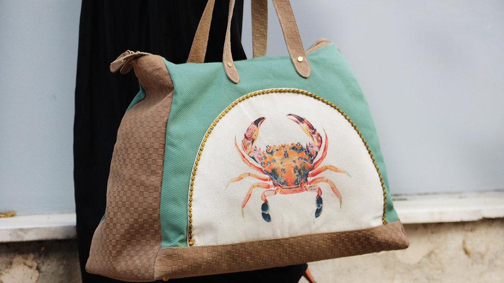 Crab weekend bag