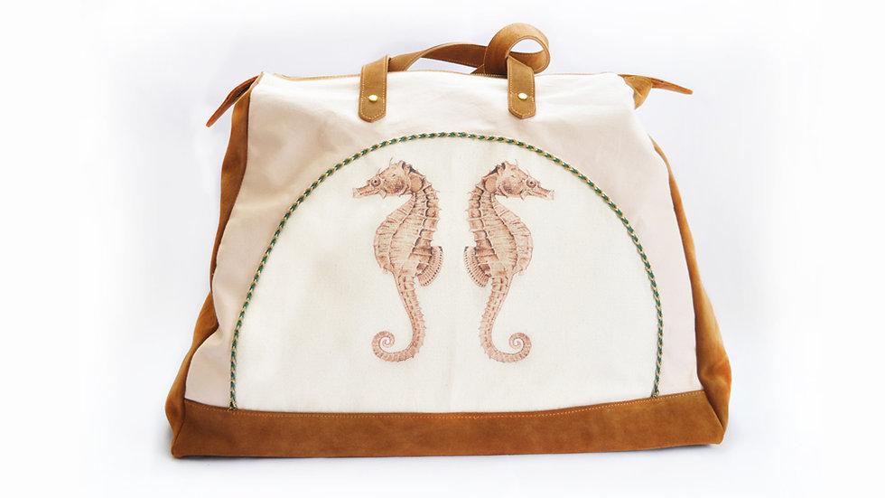 Seahorse weekend bag