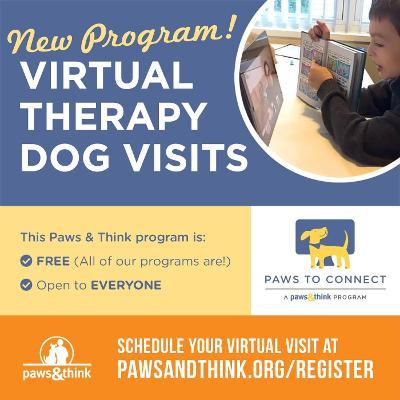 Paws & Think offers virtual program