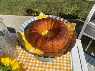 Mimi's Apple Cider Donut Cake