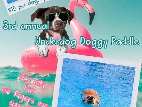 Dog swim benefits Grant County rescue