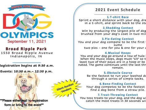 ARPO Dog Olympics coming up Sept. 11