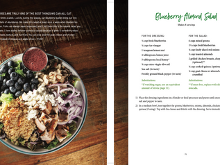 Mee McCormick's Blueberry Almond Salad recipe