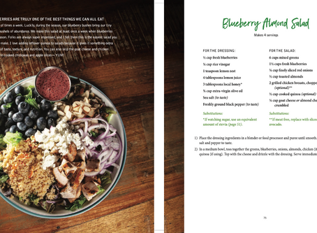 Mee McCormick's Blueberry Almond Salad recipe