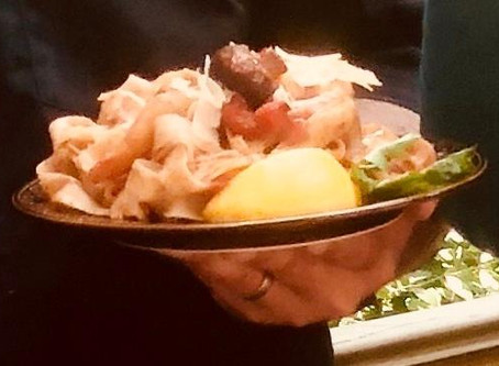 Caplinger's recipe for smoky seafood linguini