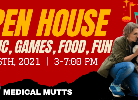 Meet the Medical Mutts at Oct. 16 open house