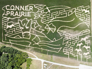 Conner Prairie corn maze honors 'Sleepy Hollow'