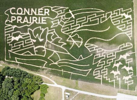 Conner Prairie corn maze honors 'Sleepy Hollow'