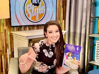 TV host shares a personal story in new children's book