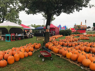 Check out the Warm Glow Fall Festival this weekend!