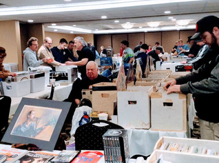 If you like music, Sept. 22 record convention has it all!