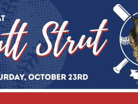 Mutt Strut is coming up! Register now!