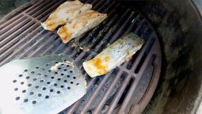 Caplinger's honey glazed salmon
