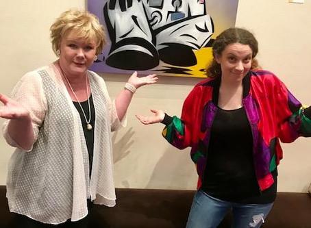 Great Day TV reporter Joy Hernandez had successful art show!