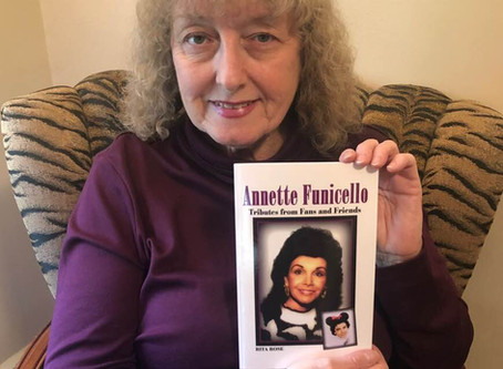 My Annette Funicello book was a labor of love