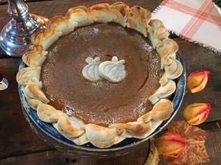 Mimi's low-fat pumpkin pie