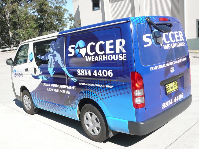 NSW Soccer Warehouse